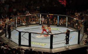UFC MMA match