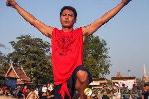 Samart Payakroon at 12th Wai Kru Ceremony