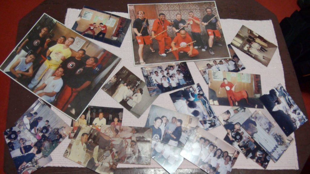 Collection of historical pictures of Eskrima Masters and students by Carin brothers in Cebu